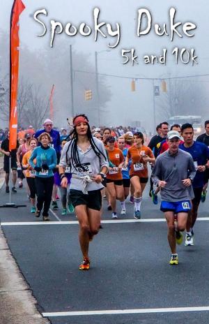 Spooky Duke race