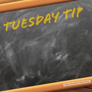 Tuesday Tip Logo